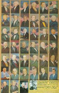 Portraits Of American Presidents by Morris Katz