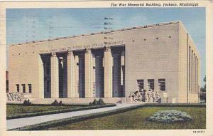 The War Memorial Building, Jackson, Mississippi, PU-1942