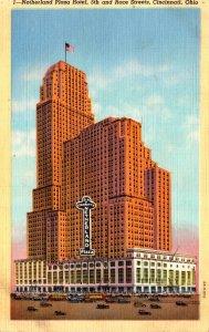 Ohio Cincinnati Netherland Plaza Hotel 5th and Race Streets 1942 Curteich
