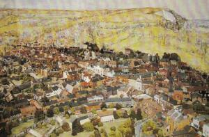Lewes Town Model Toy Replica Limited Edition Rare Sussex Postcard