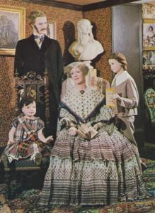 1950s Family Victorian Fashion Costume Scottish Dress Page Boy Waxwork Postcard