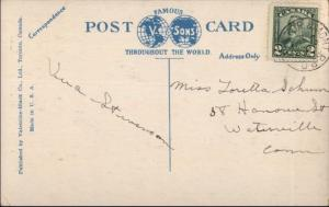Brockville Ontario St. Vincent De Paul Hospital c1920 Postcard