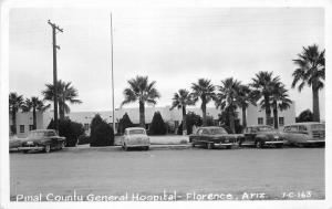 Florence Arizona Pinal County General Hospital 1950s RPPC Photo Postcard 3412