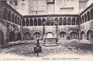 Italy Bologna Chiesa di S Stefano (Antico Chiostro)