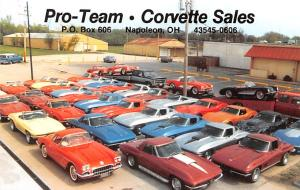Pro Team Corvette Sales Advertising Unused
