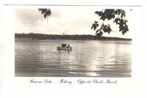 RP: Kenosee Lake , Clark´s Resort, Ontario , Canada , 40-50s ; Fishing
