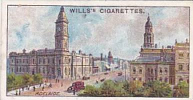 Wills Cigarette Card Overseas Dominions Australia No 27 South Australia King ...