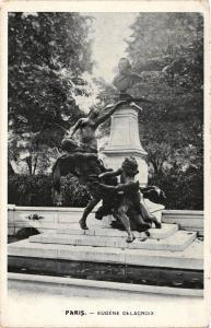 CPA Paris 6e Paris-Eugéne Delacroix (312448)