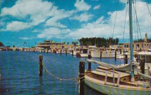 Florida Clearwater View Of The Beautiful Marina And Yacht Basin At Clearwater...