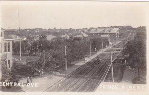 RP, PRINCE ALBERT, Saskatchewan, Canada, 1900-1910s; Central Avenue