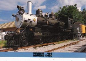 Tennessee Jackson Locomotive No 382 Casey Jones Village