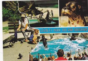 Killer Whales & Animals , Stanly Park Zoo & Aquarium , Vancouver , B.C. , Can...