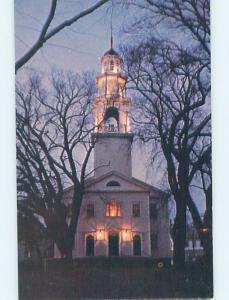 Unused Pre-1980 CHURCH SCENE Gloucester - Near Boston Massachusetts MA A7346