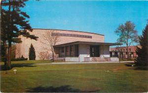 Notre Dame Indiana~Saint Marys College~O Laughlin Auditorium~1950s Postcard