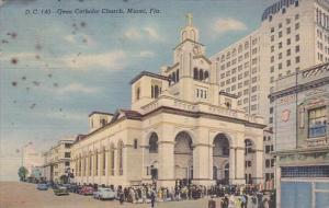 Gesu Catholic Church Miami Florida 1944