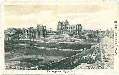 VINTAGE POSTCARD: CYPRUS