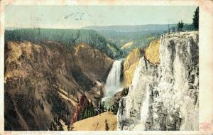 USA Lower Falls Of The Yellowstone 01.85