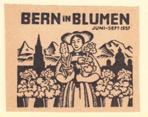 Bern in Blumen June - Sept 1937