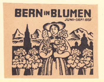 Bern in Blumen June - Sept 1937
