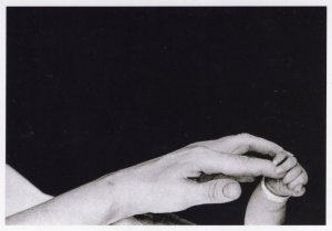 Long Island  NY Mother & Child Freak Stretched Hand 1959 Award Photo Postcard