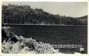 Bucks Lake, CA, California, Post Card