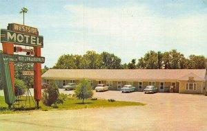 Kansas City KS Westside Motel Located 7905 State Ave. Postcard