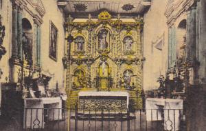 Serra Church Mission Altar Old Mission San Juan Capistrano California Handcol...