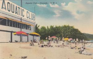 Aquatic Club , Grenada , B.W.I. , 30-40s