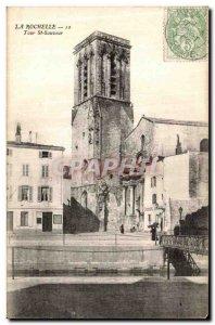 Old Postcard La Rochelle Tour St Savior