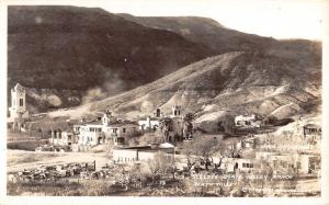 Death Valley California Scottys Ranch Frasher Real Photo Antique Postcard K31581