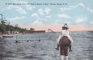 I don't Fish much, But I Caught a Beauty - Sylvan Beach NY, New York - DB
