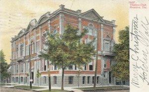 HOUSTON , Texas , 1907 ; Thalian Club