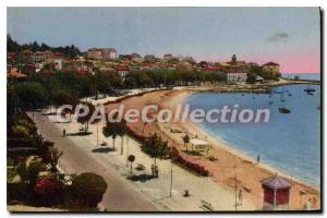 Postcard Old Sainte Maxime Sea General view to the Port