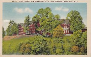 North Carolina Mars Hill Edna Moore New Dormitory Mars Hill Coillege