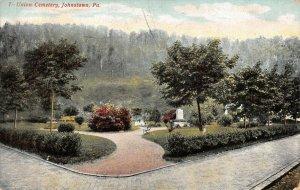 LPS79 Johnstown Pennsylvania Union Cemetery Postcard