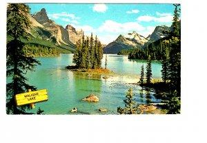 Maligne Lake, Jasper Park, Alberta