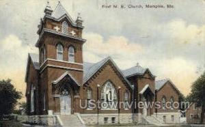 First M. E. Church Memphis MO 1909