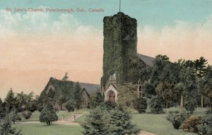 PETERBOROUGH, Ontario, Canada, 1900-10s; St. John's Church