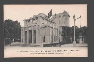 087033 FRANCE Exposition Pavillon National de Belgique Vintage