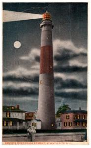 New Jersey  Atlantic City , Absecon Lighthouse at night