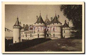 Old Postcard Chateau de Chaumont