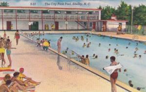 North Carolina Shelby The City Park Pool
