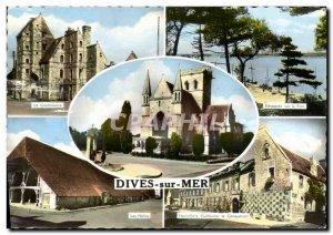 Modern Postcard Dives Lieutenancy Halles William Hostellerie de Conqueror Ech...