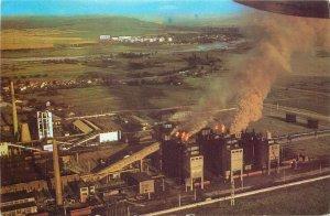 Romania Calan industrial landscape
