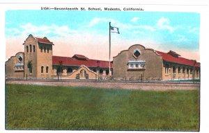 5154 - Seventeenth St. School, Modesto, California