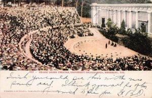 Hearst Greek Theater, Berkeley, California, Early Postcard, Used in 1907