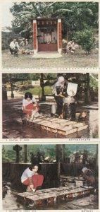 KUALA LUMPUR , Malaysia, 1940-50s ; 14 Postcards ; Rubber Plant