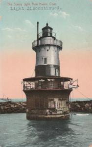 New Haven CT, Connecticut - The Sperry Light House - DB