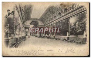 Old Postcard Palace of Versailles The Gallery of Battles