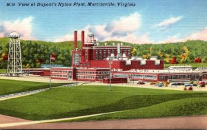 Virginia Martinsville View Of Dupont's Nylon Plant
